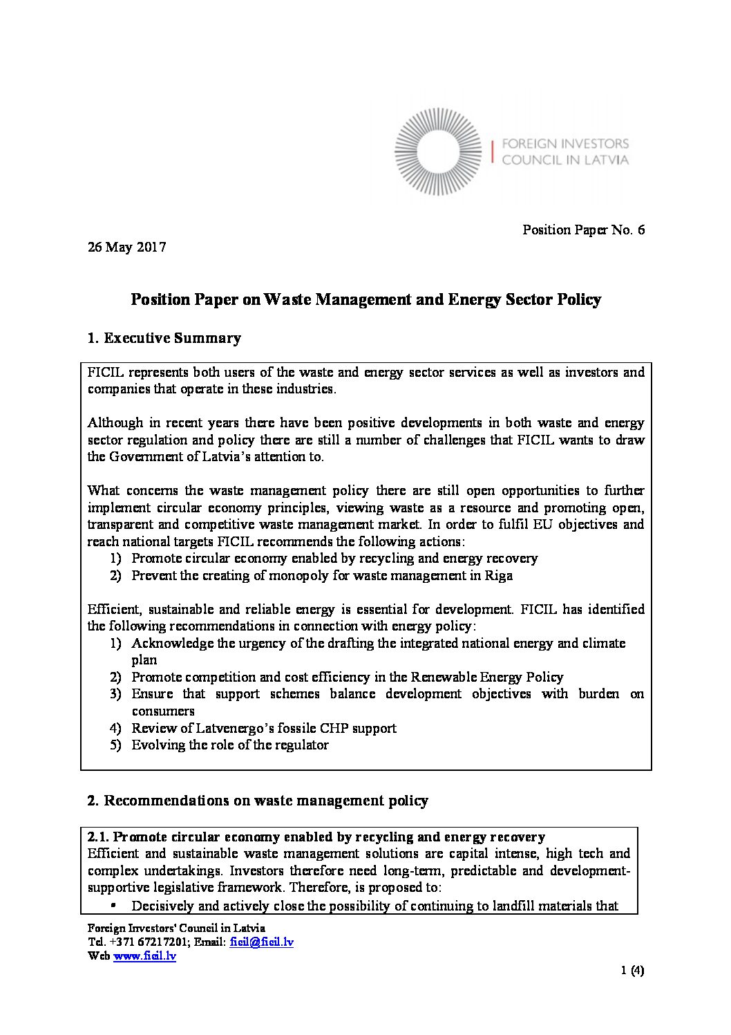EnergyWaste_EN - FICIL Foreign Investors Council in Latvia